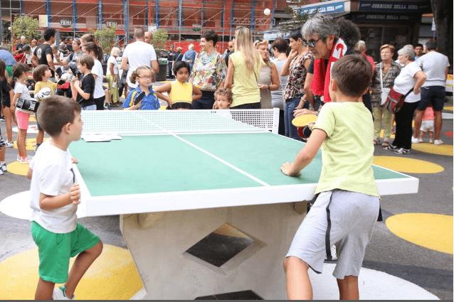 Ping pong dal PalaBovisa