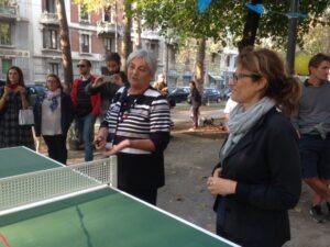 Tennis tavolo a Milano Parco Ramelli