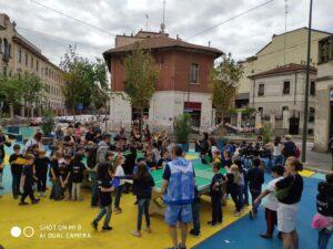 Tennis tavolo piazza Spoleto 2019