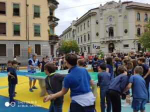 Ping pong in piazza Spoleto