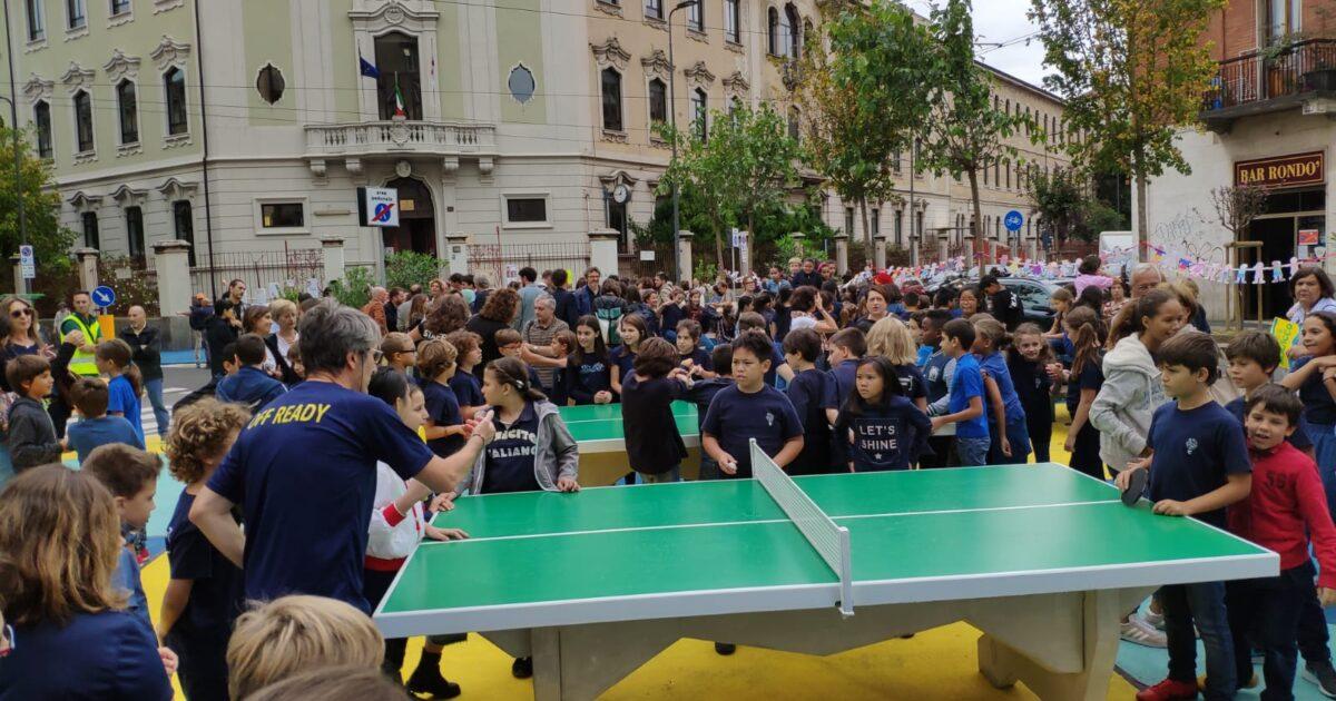 Ping pong a Milano