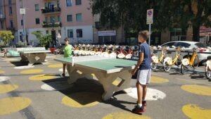 Ping pong Milano galleria fotografica