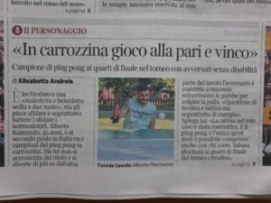 Ping pong in piazza a Milano