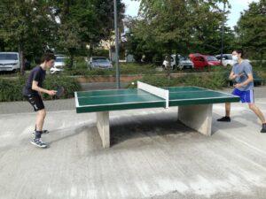 Torneo ping pong Barona