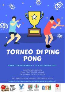 Ping pong Municipio 3