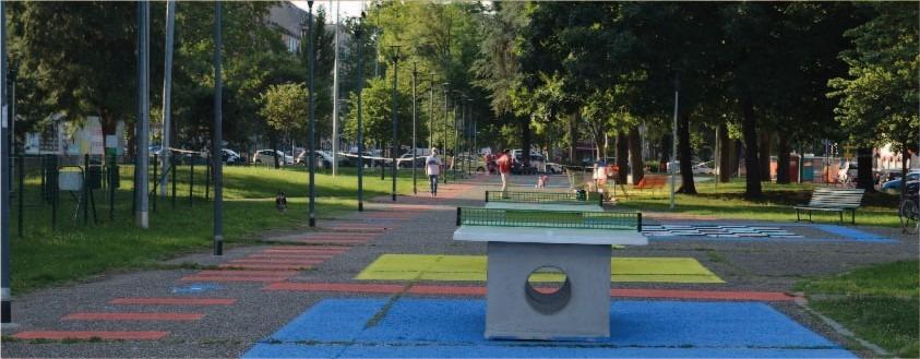 Torneo ping pong piazza Tirana