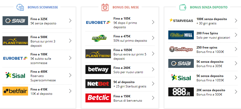 Superscommesse e ping pong